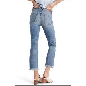 madewell cali demi boot flare jeans
